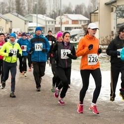 Tartu Novembrijooks - Annette Talpsep (32), Tarmo Rikkinen (176), Kaari Tilga (226)