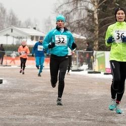 Tartu Novembrijooks - Annette Talpsep (32), Järvi Valter (36)