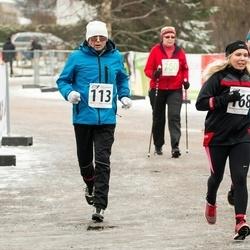 Tartu Novembrijooks - Arno Jaal (113), Helen Tammiksaar (168)