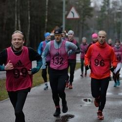 Vana-aasta jooks ja maraton - Donald Paidre (96), Julian Laanela (99), Aarne Vasarik (132)