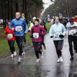 Vana-aasta jooks ja maraton - Kadri Janson (48), Annika Veimer (251), Sander Janson (270)