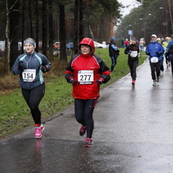 Vana-aasta jooks ja maraton - Annika Pabbo (154), Natalja Tretjakova (277)