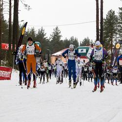 17. Alutaguse Maraton - Vane Vähk (2017), Robin Nirgi (2027), Christopher Kalev (2058)