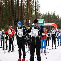 17. Alutaguse Maraton - Kristian Randmäe (521), Arne Pihkva (534)