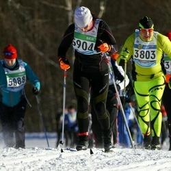 43. Tartu Maraton - Adu Mändmets (3803), Pille Selter (3904)