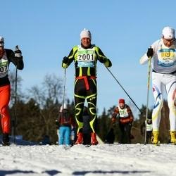 43. Tartu Maraton - Virgo Arge (2001), Arthur Aanesen (2407)