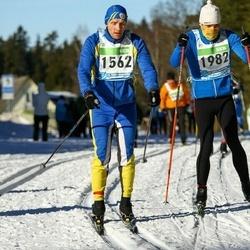 43. Tartu Maraton - Ahti Bleive (1562), Jürgo Jartsev-Moont (1982)