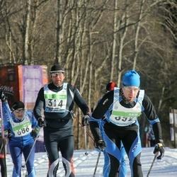 43. Tartu Maraton - Aigar Ojaots (314), Aigars Asaritis (352), Alexander Fedotenkov (1280)
