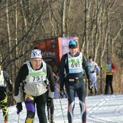 43. Tartu Maraton - Ari Warpenius (695), Juris Knets (751)