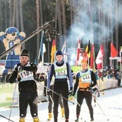 43. Tartu Maraton - Alexander Lott (554), Marek Mesi (646)