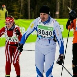 43. Tartu Maraton - Tarmo Koll (8040), Anastassija Pohhomenkova (8521)