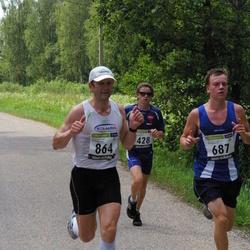31. jooks ümber Pühajärve - Mark Abner (428), Sigmar Lüüs (687), Alar Savastver (864)