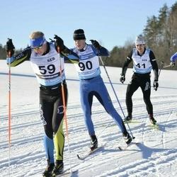 43. Tartu Maraton - Andre Mets (41), Eero-Matti Vainio (59), Jere Rossi (90)