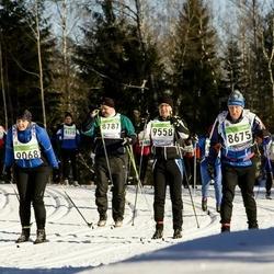 43. Tartu Maraton - Toomas Savi (8675), Alar Kodasma (8787), Annely Kukk (9068), Priit Pärgmäe (9558)