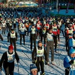43. Tartu Maraton - Anu Toomjõe (2942), Ado Pihl (2984)