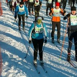 43. Tartu Maraton - Art Kuum (2288), Madis Ennuste (2681), Ilya Spiridonov (3540)
