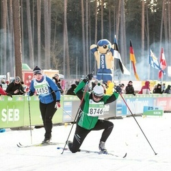 43. Tartu Maraton - Annika Albert-Aksjonov (4455), Kent Grennberger (8746)