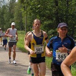 31. jooks ümber Pühajärve - Keio Hämäläinen (507), Aarne Seeba (865)