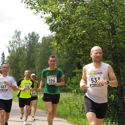 31. jooks ümber Pühajärve - Aare Treier (156), Madis Juurma (526), Urmet Jänes (533)