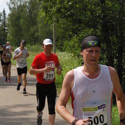 31. jooks ümber Pühajärve - Arto Lepik (209), Veiko Heinalo (500)