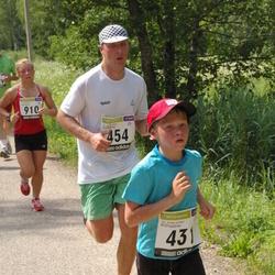 31. jooks ümber Pühajärve - Artti Aigro (431), Allan Aulik (454)