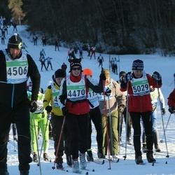 43. Tartu Maraton - Aile Trumm (4470), Tarmo Menets (4506), Aare Kask (5029)