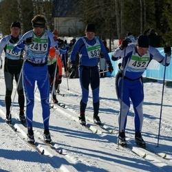 43. Tartu Maraton - Tõnu Karelson (382), Alar Lehesmets (452), Alexander Gavrilov (2419)