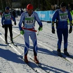 43. Tartu Maraton - Veljo Kattago (483), Arno Anton (686)