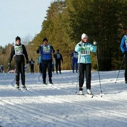 43. Tartu Maraton - Annely Kärema (8311), Valmar Sutt (8313)