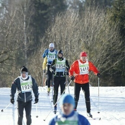 43. Tartu Maraton - Ago Võhmar (1418), Üllar Vill (1854), Kaimar Karm (1924)
