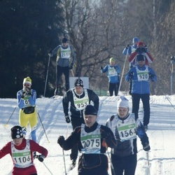 43. Tartu Maraton - Annika Vaher (1106), Tauno Treier (2075)