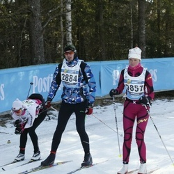 43. Tartu Maraton - Anneli Rosin (2857), Vladimir Rimar (2884)