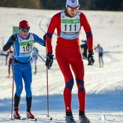 43. Tartu Maraton - Tiit Voodla (102), Artur Rauk (111)