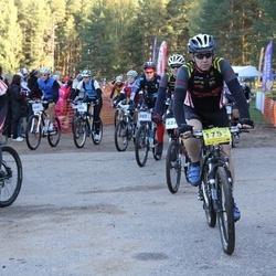 Haanja 100 2011 - Nikolai Vähi (175), Priit Lomp (202), Marjaana Suominen (402), Aigars Meiers (458)