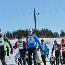 43. Tartu Maraton - Bruno Born (2963), Ola Westberg (3884)