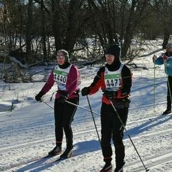 43. Tartu Maraton - Camilla Bruun (4440), Astrid Arula (4471)