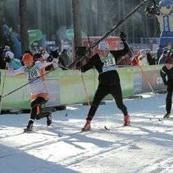 43. Tartu Maraton - Tarmo Mändla (208), Karel Romet Pedajas (218), Christophe Chaix (244)