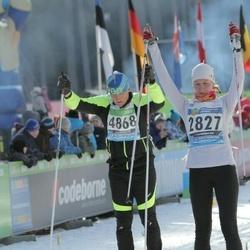 43. Tartu Maraton - Annika Vaiksaar (2827), Olev Kitvel (4868)