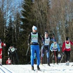 43. Tartu Maraton - Riho Männi (1028), Annika Vaher (1106), Uwe Hartwig (3570), Aleksei Gerikh (4697)