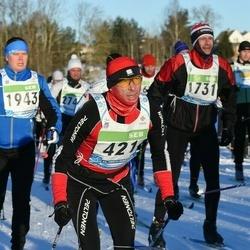 43. Tartu Maraton - Alexander Ryabchikov (421), Andro Metsis (1731), Tarmo Teder (1943)