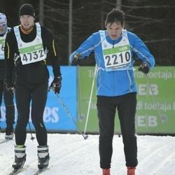 43. Tartu Maraton - Ago Bachmann (2210), Aurelijus Dvelys (4732)