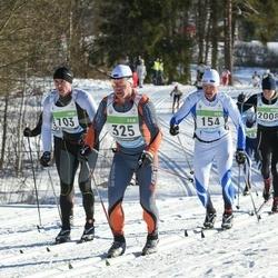 43. Tartu Maraton - Tarvo Kiudma (154), Mehis Rump (325), Andre Pukk (703)
