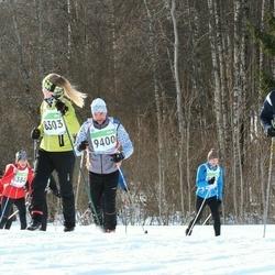 43. Tartu Maraton - Britta-Mai Nõmmik (8303), Kalmer Kabanen (9400)