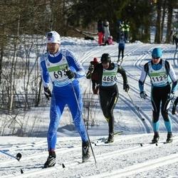43. Tartu Maraton - Rauno Kurg (693), Hanno Rajamets (1125), Artis Krievans (4686)