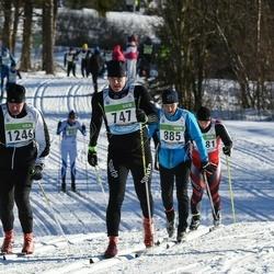 43. Tartu Maraton - Agris Peedu (747), Jari Kokkonen (1246)