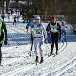 43. Tartu Maraton - Liis Jääger (1303), Erki Vabamets (1773), Andis Pusnakovs (4646)