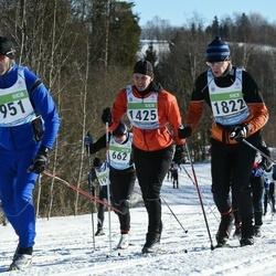 43. Tartu Maraton - Avo Kask (951), Jüri Etverk (1425), Bert Lõuke (1822)