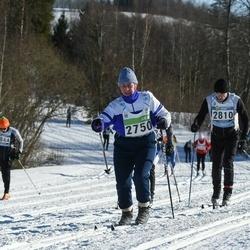 43. Tartu Maraton - Aili Jürimäe (2750), Aarne Rentik (2810)