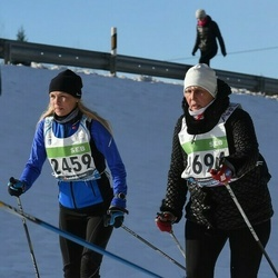 43. Tartu Maraton - Briti Klimberg (2459), Liudmila Grusina (8694)