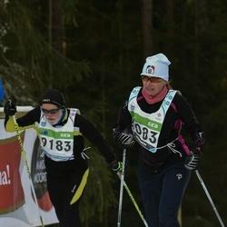 43. Tartu Maraton - Mariann Soone (4083), Adrian Blake (9183)